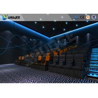China Black 4D Movie System With Epson Projector / Digital Audio System wholesale
