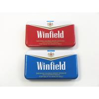 China Winfield Quality Cigarette Tin Can Metal Cigarette Case Cigarette Case With Lighter on sale