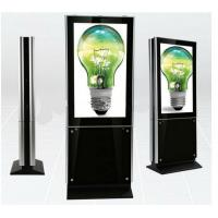 China 55 Inch Floor Standing LCD Advertising Player For Airport And Metro wholesale
