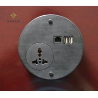 China Surge Protection Circular Power Strip Single Way Universal Socket For Safe wholesale