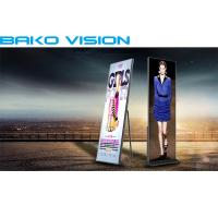 China Indoor Advertising Front Service LED Display P2.5mm Full Color Standing Screen wholesale