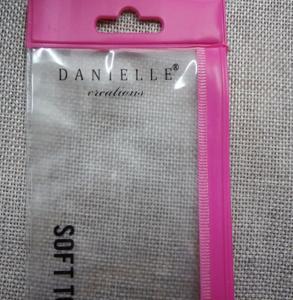 Buy cheap Pink Makeup PVC Zipper Bag , Hanger Ziplock Plastic Pencil Bag from wholesalers