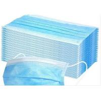 China Anti Pollution Disposable Earloop Face Mask Non Irritating Moisture Proof wholesale