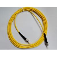 China Fiber Optic Patch Cord ST-ST Single mode , Simplex(SM SX) easy for operation for FTTX + LAN wholesale