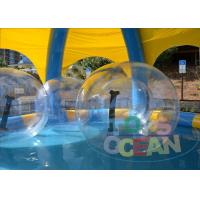 China Outdoor Inflatable Bumper Ball For Kids / Human Sized Hamster Ball wholesale