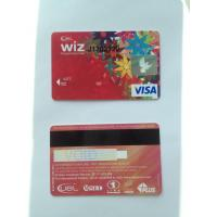 Wholesale ISO standard prepaid VISA smart debit card with hico black magstripe from china suppliers
