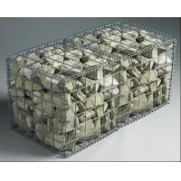China Welded Gabion Mesh Box / Galvanized Gabion Rock Wall Cages For Garden Fence wholesale
