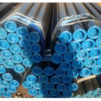 China ASTM A106 Gr. B Black Seamless Carbon Steel Pipe Sch40 Sch80 Std For Fluid Transport wholesale