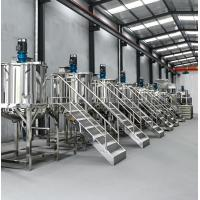 China Stainless Steel Continuous Stirred Tank Reactor , Liquid Makeup Product Line wholesale