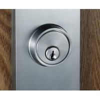 Quality Satin Nickel Entry Door Handlesets With Lever Interior Two Bolts for sale