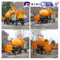 Quality good service electric small portable concrete mixer pump with high quality, small towable concrete mixer for sale for sale