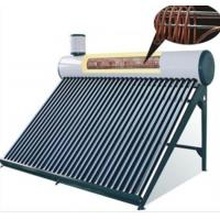 China Pre-heating Low Pressure Solar Water Heater 250L With Copper Coil Inner Tank wholesale