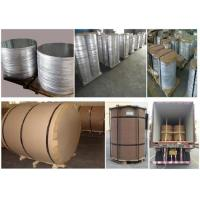 China 1060 Thin Aluminum Sheet Circle , O Temper Marine Grade Aluminium Disk wholesale