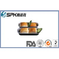 Quality Freezer Disposable Foil Takeaway Containers With Lids , Aluminum Foil Baking for sale