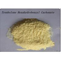 China 99% Yellow Steroid Hormone Powder Trenbolone Hexahydrobenzyl Carbonate wholesale