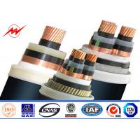 China XLPE Insulated Steel Wire Armoured 11kv Power Cable 400/500mm² 90°C 110°C wholesale