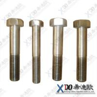China Monel K500 high quality fastener stainless steel hex bolt with full/half thread wholesale