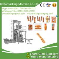 China Weighting filling wrapping machine for finger sticks, Parmesan Breadsticks packing machinery wholesale