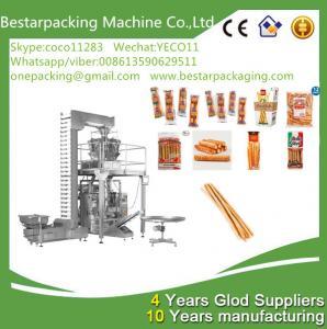 Quality food flow pack machine for bread sticks,breadsticks,finger sticks ,Lance Bread for sale