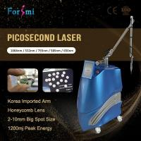 China Unique Real Pico! Usa Lambda Honeycomb Lens Tattoo Removal Pico Laser For Wrinkles Acne Scars Treatment wholesale