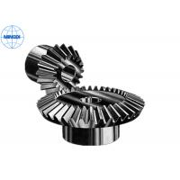 China Mirco Forging Steel Straight Bevel Gear / Spur Bevel Gear with Right Hand Direction wholesale