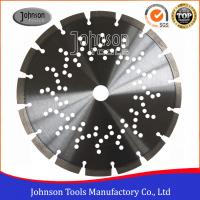 "Wholesale 9"" Laser welded Diamond Concrete Saw Blades 230mm with Cooling Holes from china suppliers"
