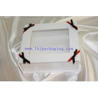 Buy cheap display folding paper box with pvc window from wholesalers