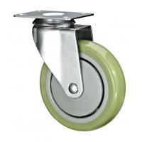 """5"""" Polyurethane PU Caster Wheel Swivel For Case Carts And Utility Carts for sale"""