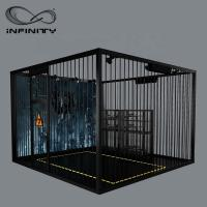 China Black Color VR Gaming Platform 9D VR Simulator Four People 12 Month Warranty wholesale
