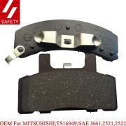 China Ceramic brake pads for CADILLAC D369-7259 wholesale