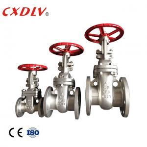 "China 10"" CF3M RF Flanged Ended Sewage Handwheel Gate Valve wholesale"