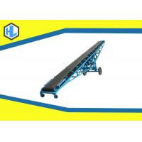 China Troughed Motorized Powered Belt Conveyor Simple Structure Low Noise Design on sale