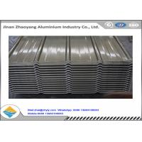 China Strength 1060 3003 Roof Corrugated Aluminum Sheet Lightweight For Warehouse wholesale