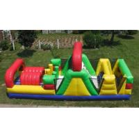 China inflatable obstacle course / inflatable hot selling climbing obstacle course for kids playing wholesale