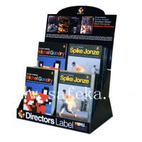 China CD/VCD Counter Displays,Retail CD/VCDs Corrugated Table top Display Box wholesale