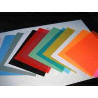 China Heat-resistant Matte / Frosted PVC Binding Cover with 125mic to 400mic Thickness wholesale