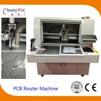 China 220V 4.2KW PCB Router Depanelizer With Double Working Tables 113*140*108cm wholesale