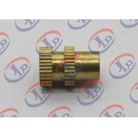 China 0.315in X 0.473in CNC Turned Parts Brass Knurled Bolts With Through Hole wholesale