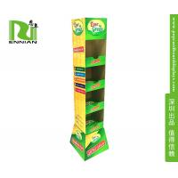 Wholesale Green Eco Friendly Cardboard Floor Displays For Supermarket Food Or Vegetable Promotion from china suppliers