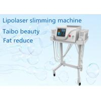 China Portable 650nm 980nm Lipo Laser HIFU Slimming Machine Automatic And Manual Operate Mode wholesale