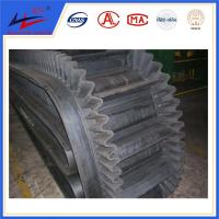 China corrugated sidewall Industrial conveyor belt, food grade belt conveyor wholesale