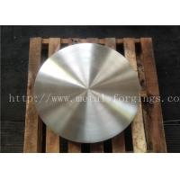 Quality Alloy Steel  / Stainless Steel Disc  Quenching And Treatment Heat Treatment  Finish Machined for sale
