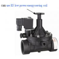 China Pilot Operated Plastic Solenoid Valve 1/2 Inch Solenoid Valve For Irrigation System wholesale