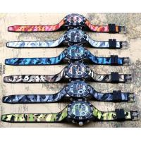 Quality Smael Dual Time Camouflage Chronograph Luminous Multifunction Military Sport for sale