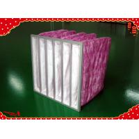China Synthetic aluminum frame air filter bags for cleaning room air conditioning system wholesale