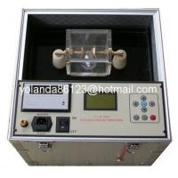 Buy cheap Dielectric strength oil tester, Transformer oil testing set, Insulating oil BDV tester from wholesalers