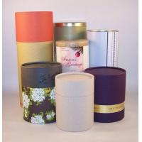 China 157g Coated Paper Cardboard Packaging Tubes For Jewelry , Mat / Glossy Lamination wholesale