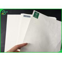 Quality 100gsm - 160gsm Glossy Coated Paper , Greaseproof One Side PE Coated Paper For for sale