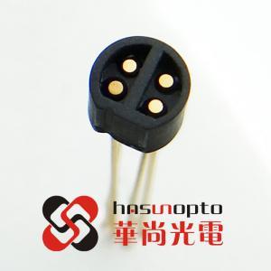 China Ceramic to metal sesaling, D4x4pin, mini can, mini cap, mini headers, Diameter 2mm, 3mm, 4mm, 5mm wholesale