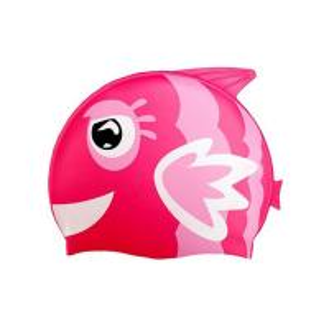China Eco - Friendly Fun Design Kids Swim Hat , Cute Swim Caps For Children wholesale